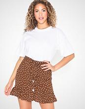 River Island Button Down Mini Skirt