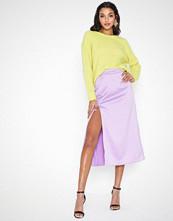 Glamorous Sliky Midi Skirt