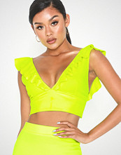 NLY One Crop Frill Top