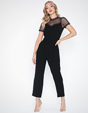 Michael Kors Lace Yoke Jumpsuit