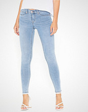 Gina Tricot Skinny low waist superstretch jeans Lys blå
