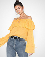 NLY Trend Off Shoulder Boho Blouse