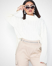 Missguided Ribbed Roll Neck Jumper