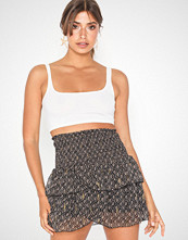 Neo Noir Carin Crepe Chiffon Skirt