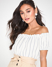 Vero Moda Vmanna Milo Off Shoulder Top Stripe