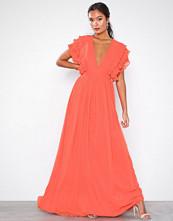 U Collection Maxi Flounce Dress