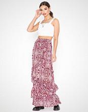 Glamorous Short Sleeve Snakeskin Dress