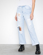 Missguided High Rise Boyfriend Jeans