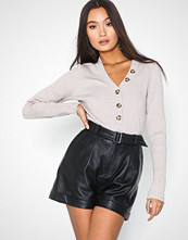 Selected Femme Slfvegas Hw Leather Shorts W