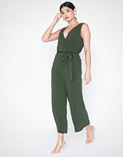 Object Collectors Item Objbay S/L Jumpsuit Noos Mørk grønn