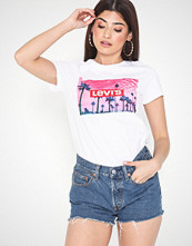 Levi's The Perfect Tee Pink Palm Tree