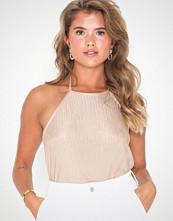 NLY Trend Pleated Halterneck Top