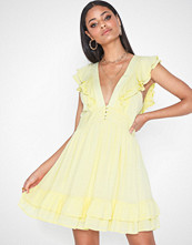 Kiss The Sky Lemon Dress