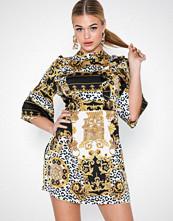 Ax Paris Embellished Skater Dress