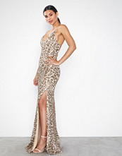 Honor Gold Gia Gold Sparkle Dress