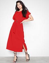 Closet Short Sleeve Belted Dress
