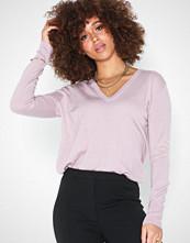 Filippa K Silk Mix V-Neck Sweater Frost