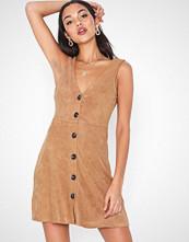 Ax Paris V Neck Button Dress
