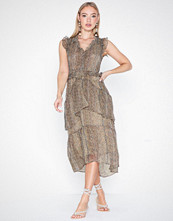 Neo Noir Selma Printed Dress