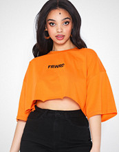 Missguided Drop Shoulder Crop T-shirt