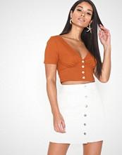 Jacqueline de Yong Jdyfive Button Skirt Dnm Jj