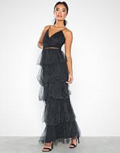 U Collection Maxi Frill Plissé Dress
