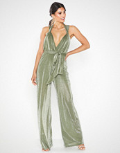 U Collection Knot Jumpsuit