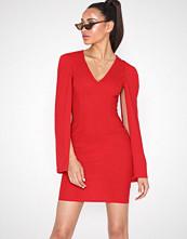 Ax Paris Open Long Sleeve Dress