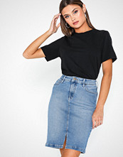 Lee Jeans Pencil Slit Skirt Jaded