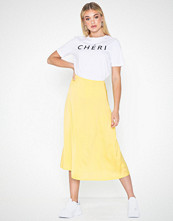 Pieces Pcsandra Hw Midi Skirt D2D