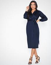 Closet Long Sleeve Midi Dress