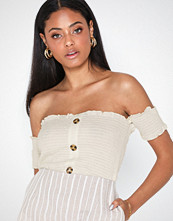 Noisy May Nmlea S/S Off Shoulder Smock Top