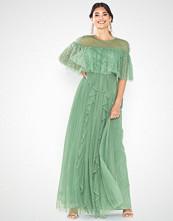 U Collection Short Sleeve Mesh Dress