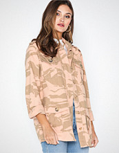 River Island Camo Army Jacket