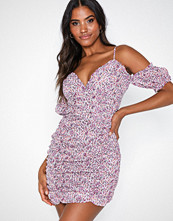 Missguided Ruched Front Mini Dress