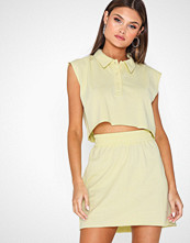 Missguided Polo Shirt and Mini Skirt Co Ord
