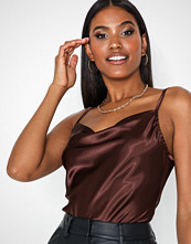 NLY One Satin Cowl Top