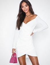 Ax Paris Long Sleeve Offshoulder Dress