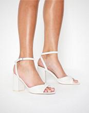 NLY Shoes Twist Heel Sandal Hvit