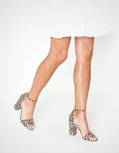 NLY Shoes Block Heel Sandal Leo