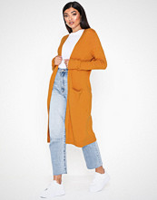 Vila Viril L/S Long Knit Cardigan-Noos Orange