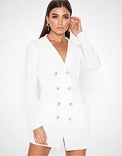 Ax Paris Long Sleeve Blazer Dress