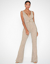 Rare London Metallic Jumpsuit