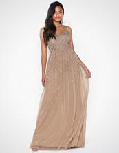 Maya Scatter Sequin Maxi Dress