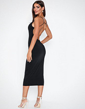 NLY One Bare Back Midi Dress