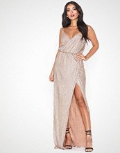 Rare London Metallic Side Split Maxi