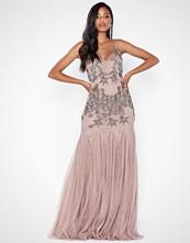 Maya Cami Embellished Fishtail Maxi Dress