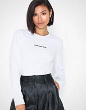 Calvin Klein Inst Logo Stretch Ls Slim Tee