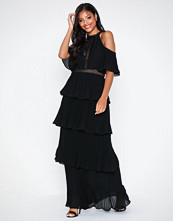 U Collection Turtle Neck Maxi Dress