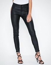 Noisy May Nmkimmy Nw Coated Ankle Pants Bl No